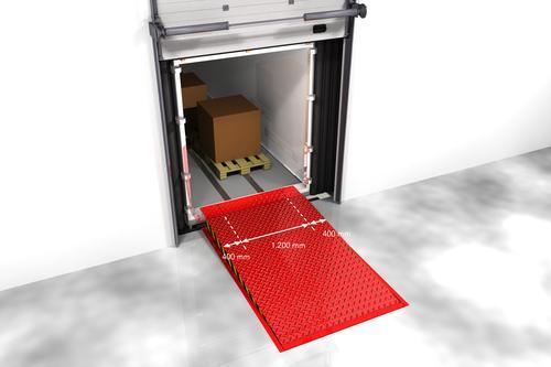 Доклевеллер для шарнирно-сочлененных транспортных средств и фургонов для доставки грузов