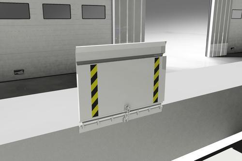 Алюминиевый погрузочный мостик